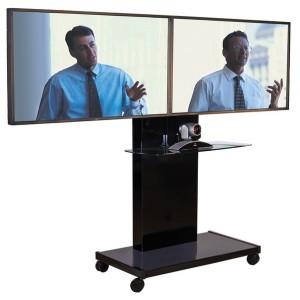 Videokonferenz Standfuß oder Medienwagen