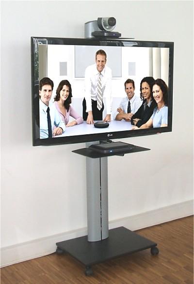 videokonferenz standfuss oder medienwagen. Black Bedroom Furniture Sets. Home Design Ideas