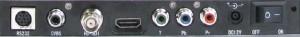 HD Camera Anschlüsse