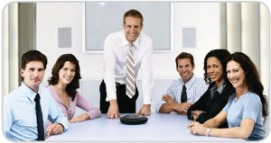 Konferenzraum Videokonferenz