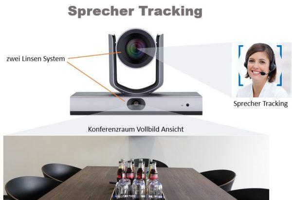 Kamera mit Sprecher Verfolgung